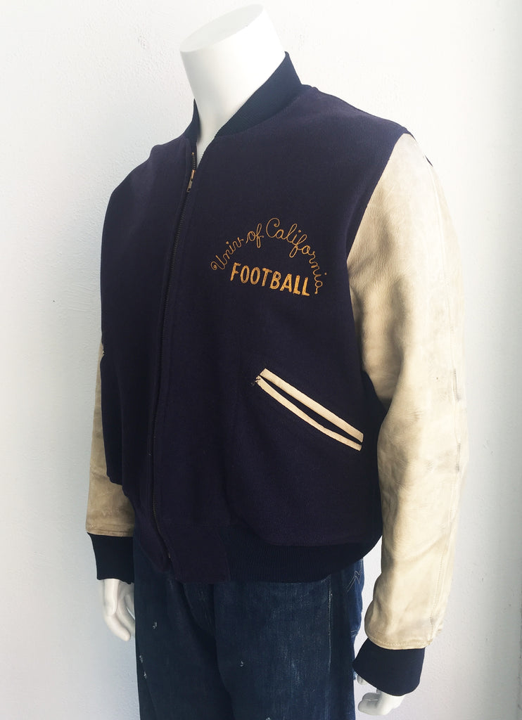 50's UC Berkeley Letterman Jacket