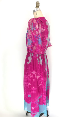 Hanae Mori Floral Dress