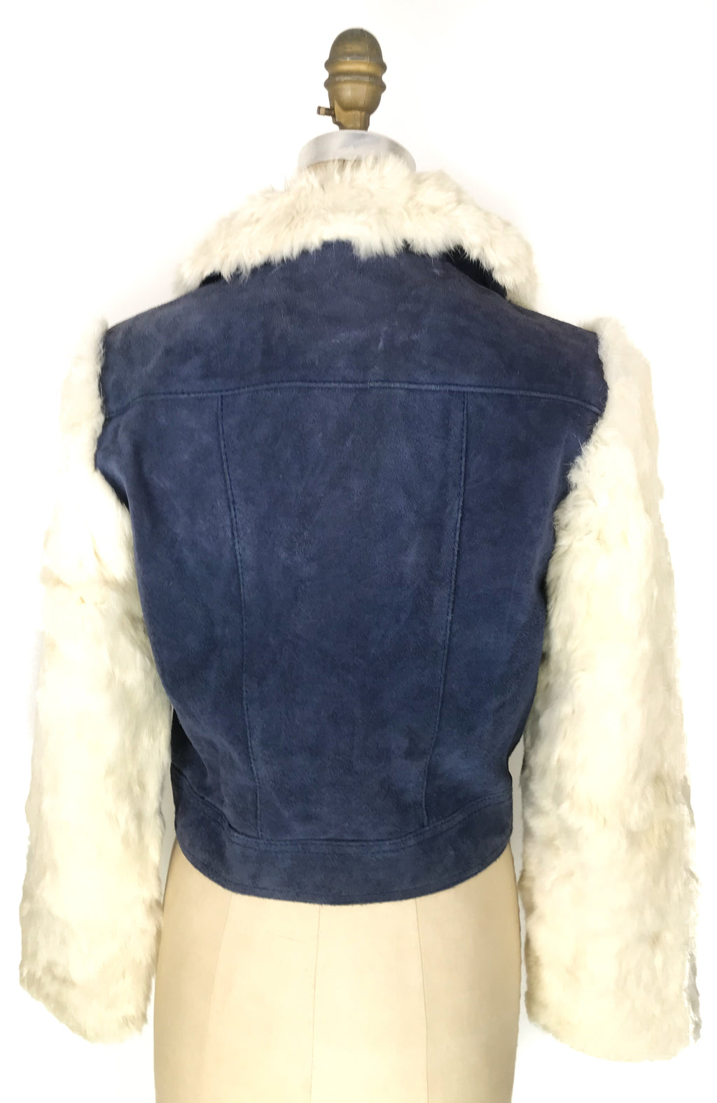 Fur Sleeve Jacket