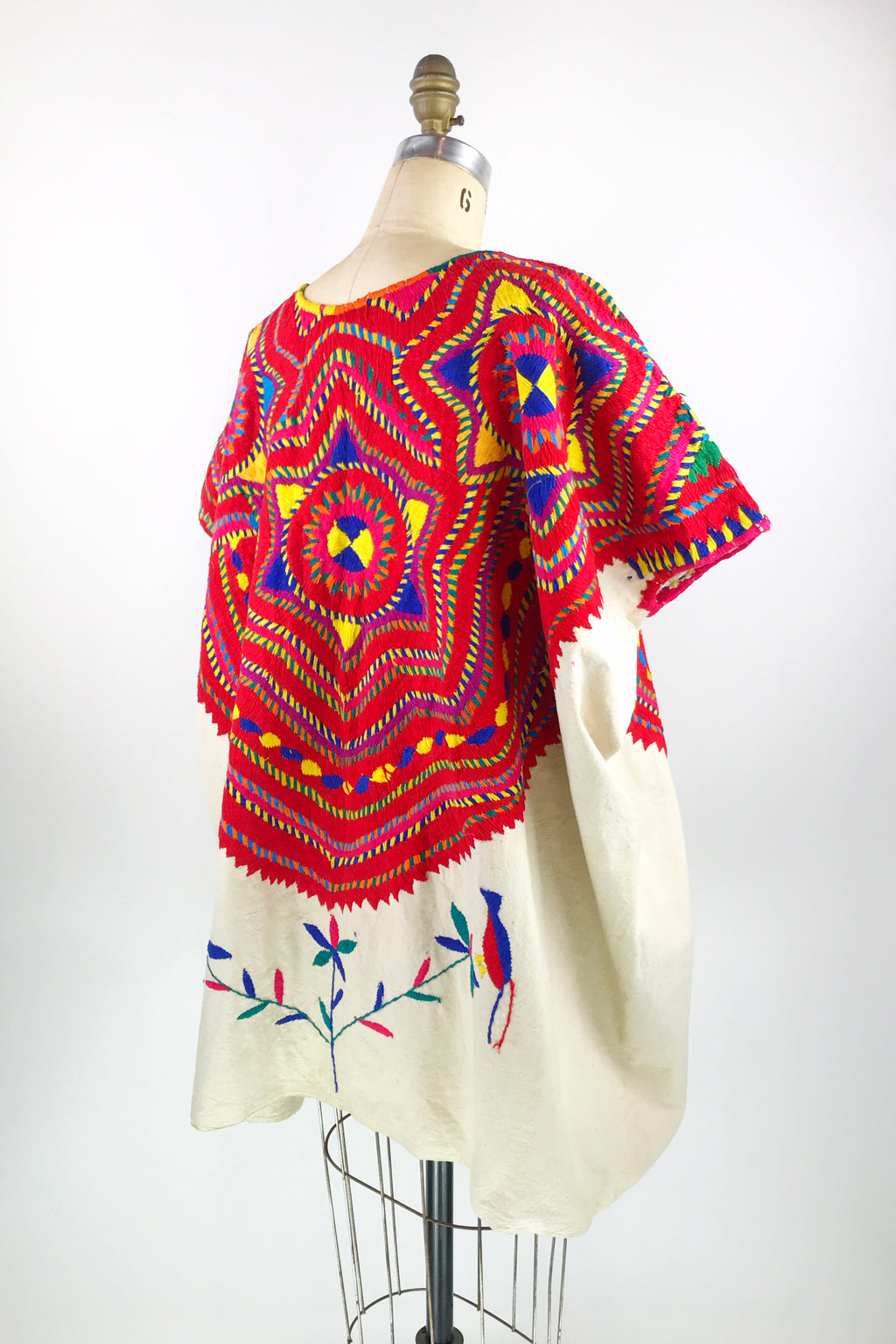 Embroidered Huipil