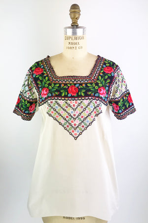 Hungarian Embroidered Top