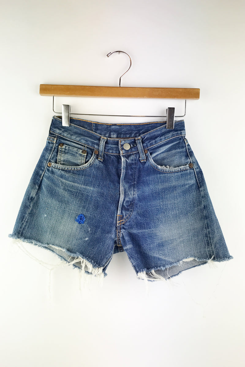 1960s Big E Cut Off 501 Levi's 24