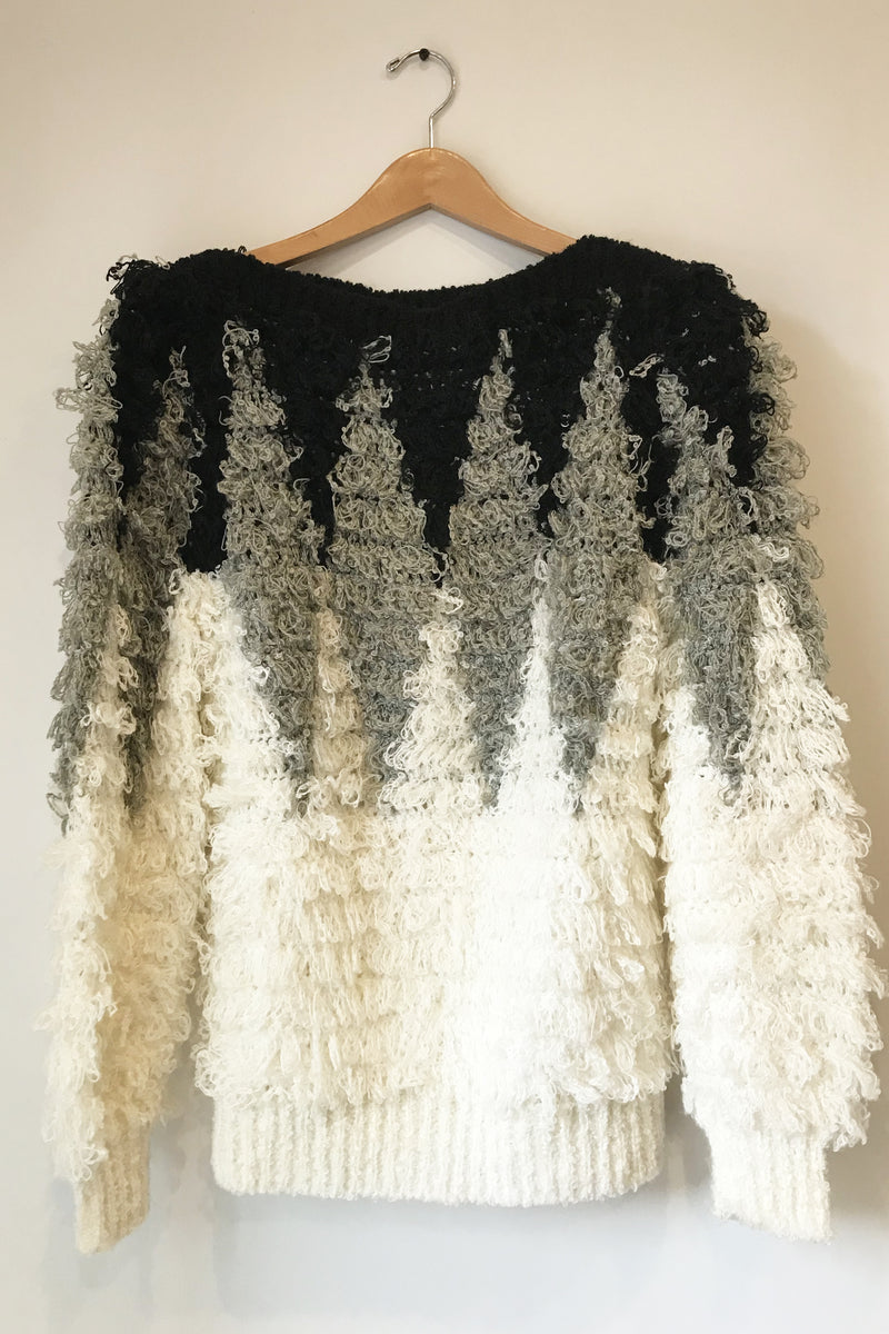 Vintage Shag Loop Sweater