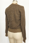Vintage Tie Neck Sweater