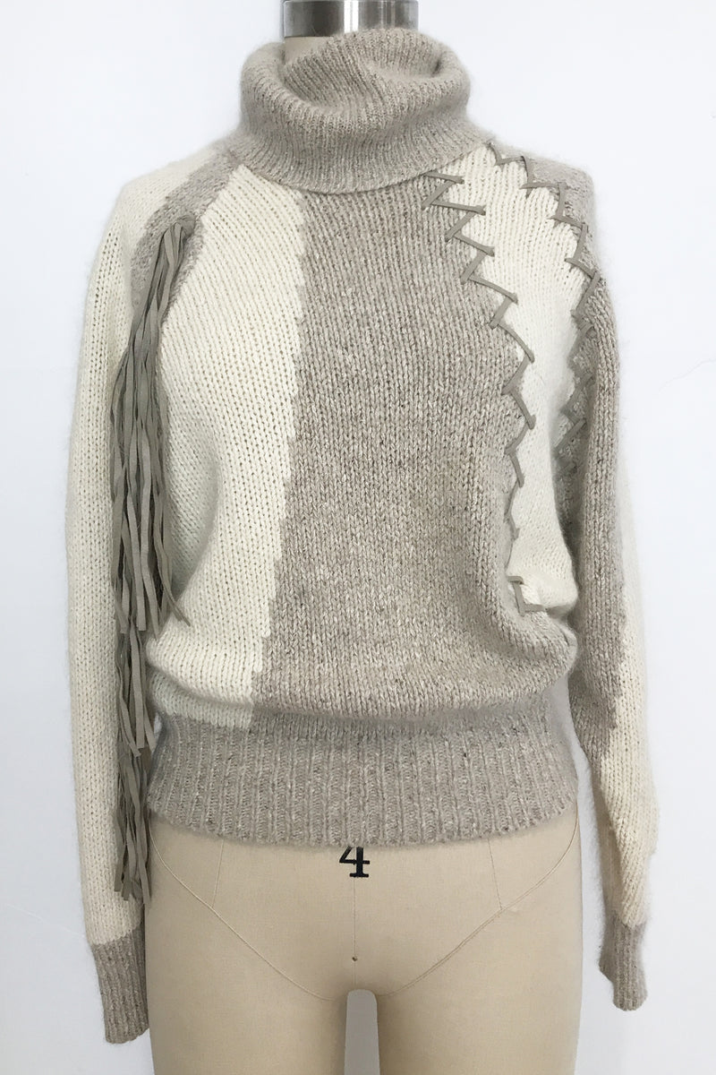 Vintage Fringe Sweater