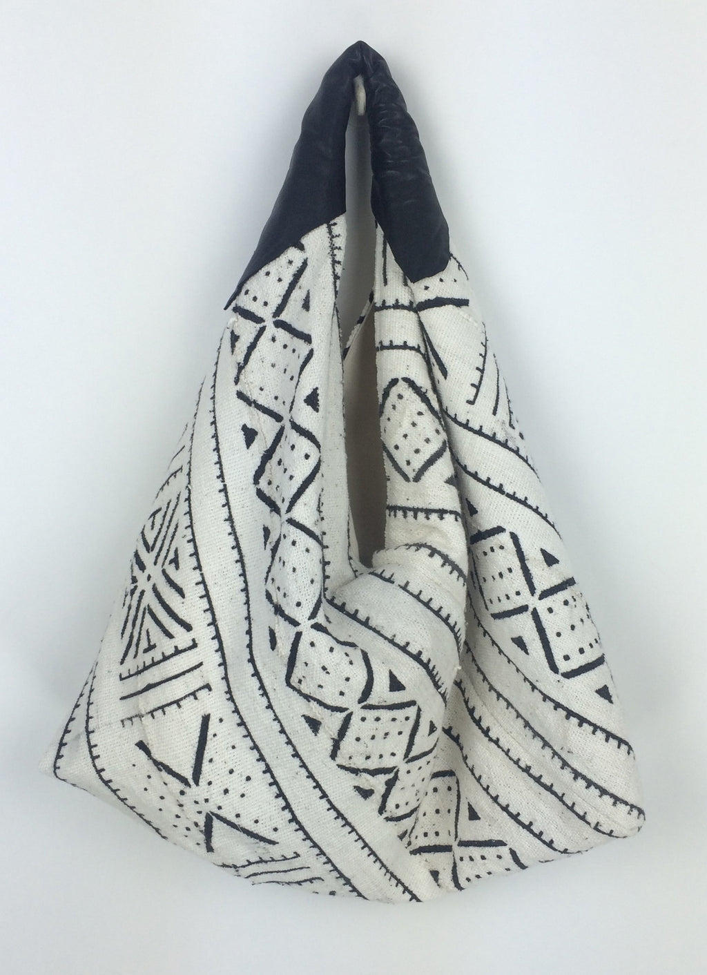 Mud Cloth Hobo Bag