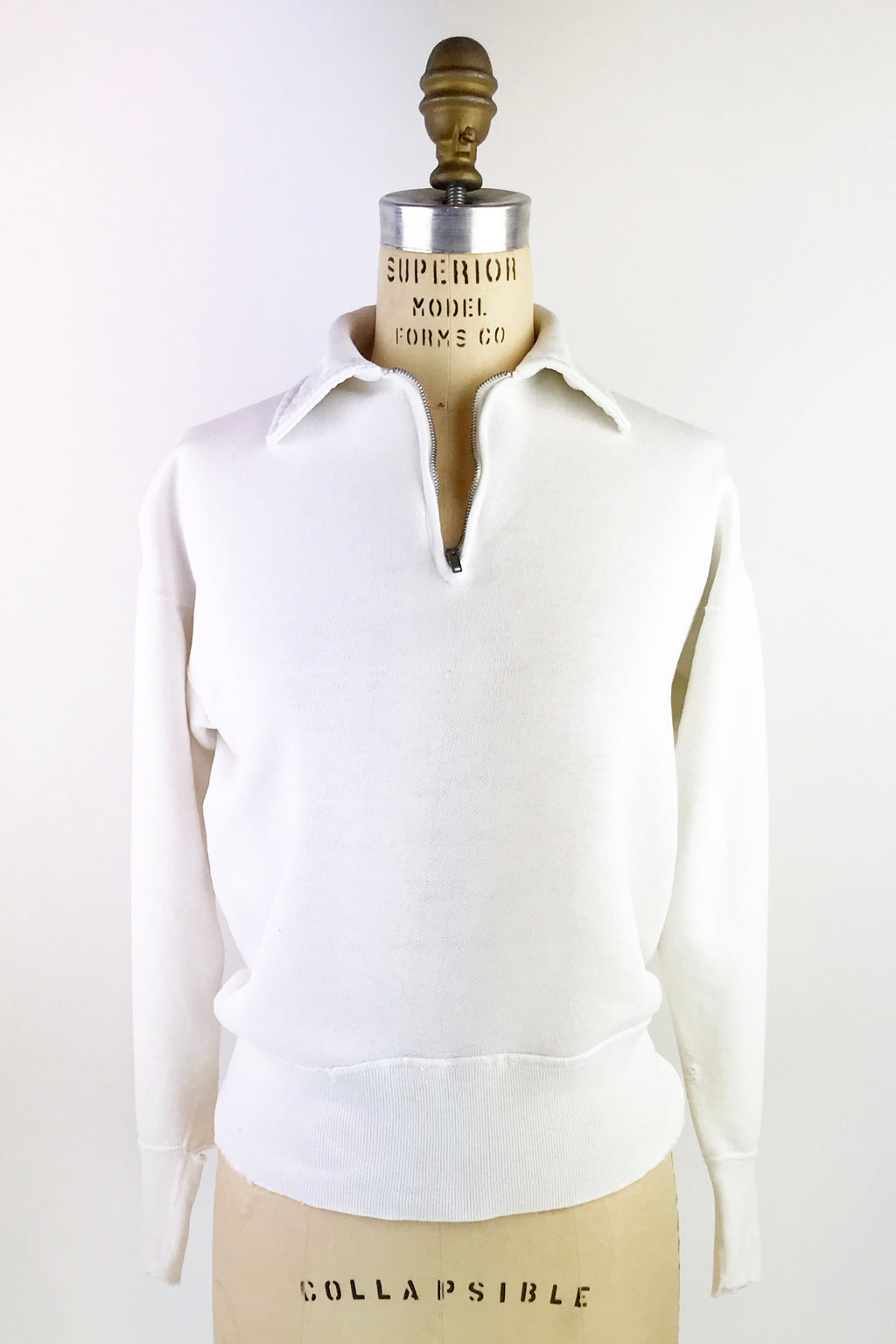 1950's Zip Neck Sweatshirt