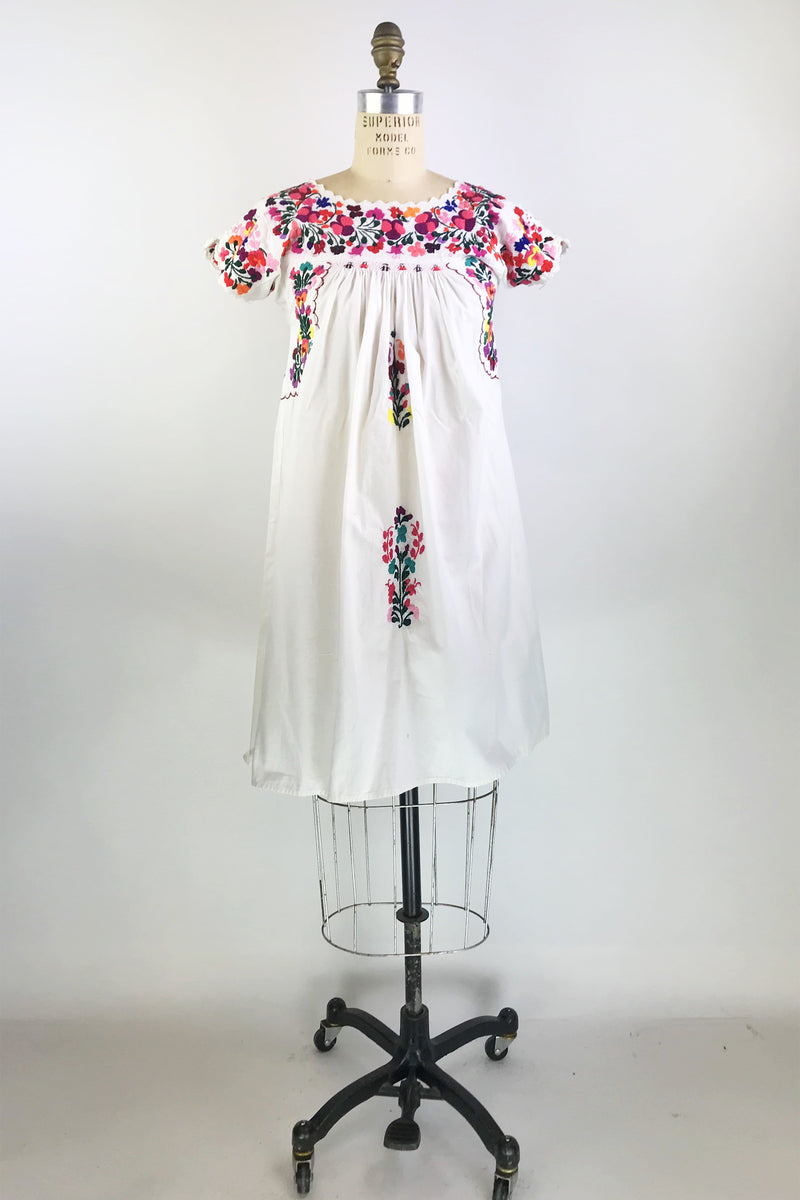 Vintage Embroidered Dress