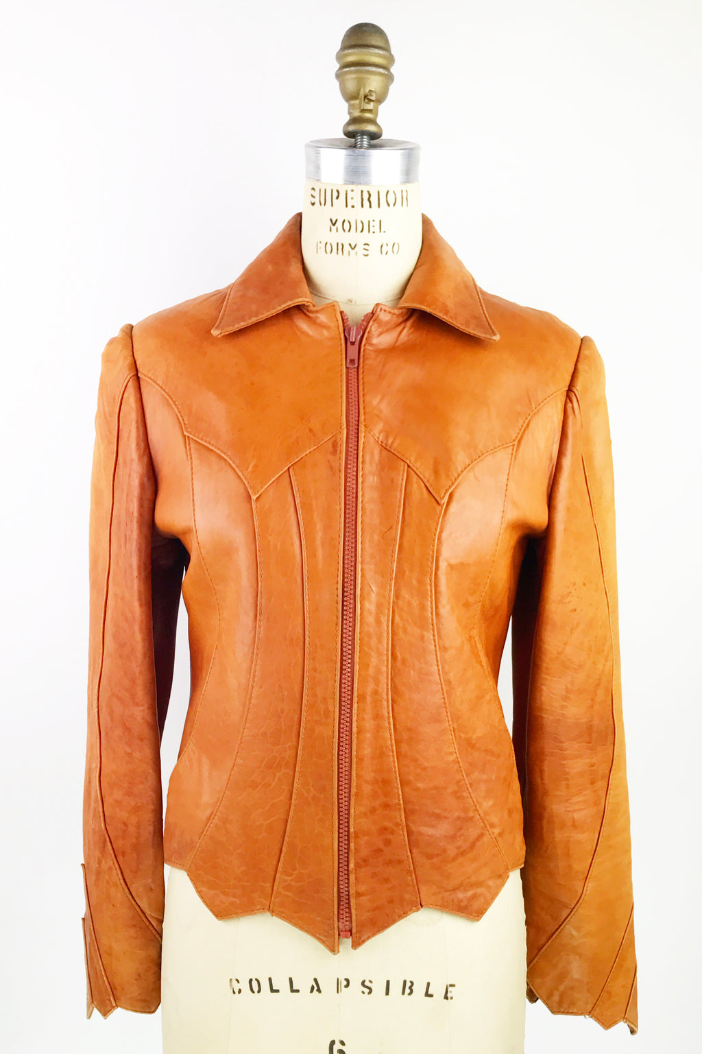 Leather 1970s Jacket