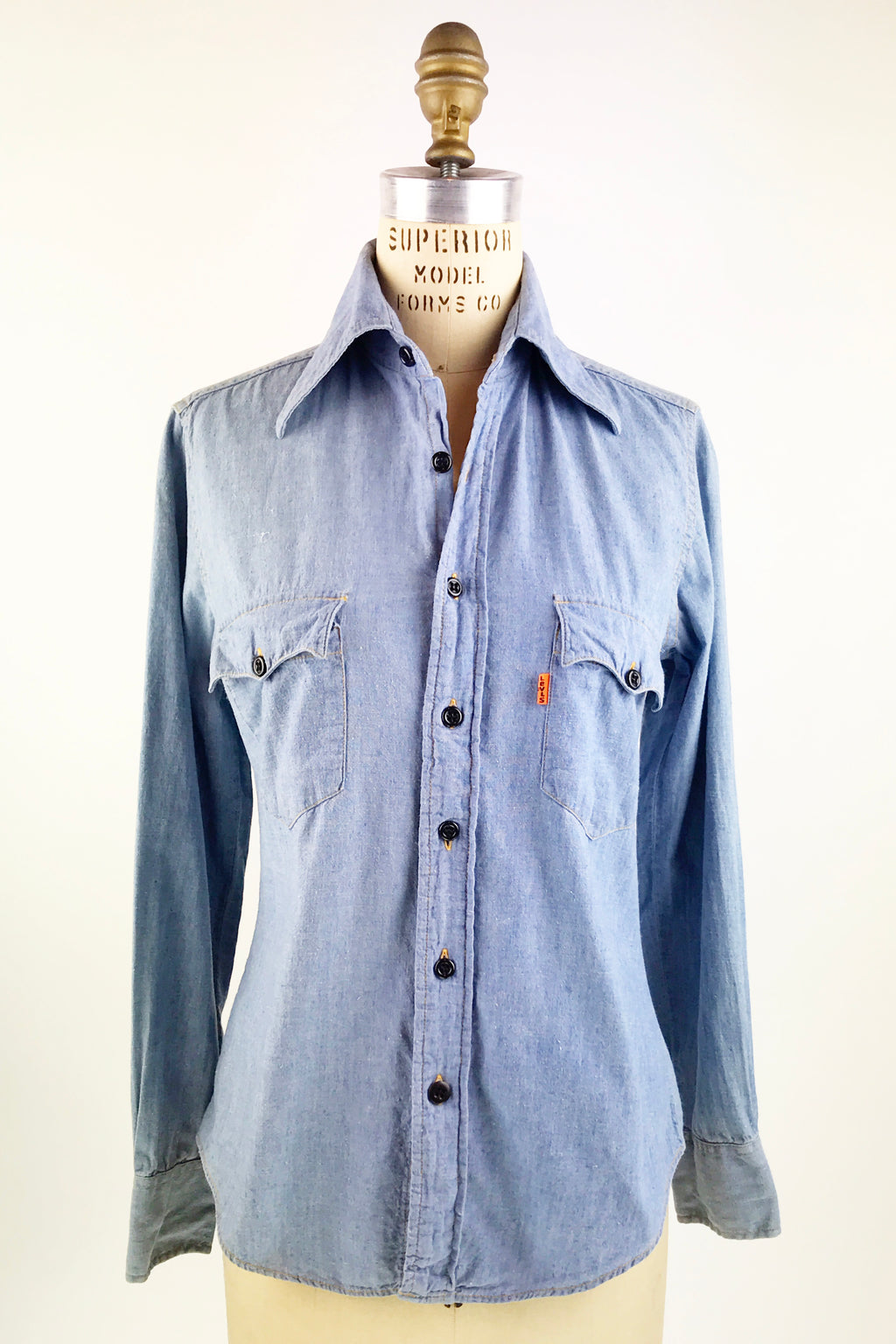 1970s Levis Chambray Shirt