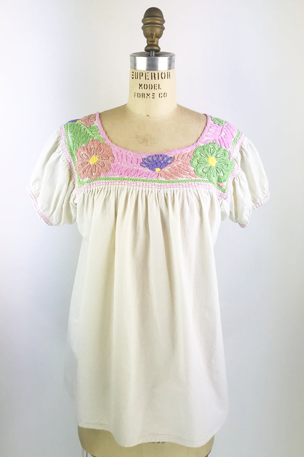 Embroidered Vintage Top