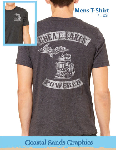 Great Lakes Powered® Engine Tee