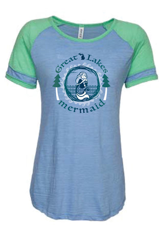 Great Lakes Mermaid Scoop Neck