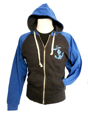 Anchored Full Zip Hoodie