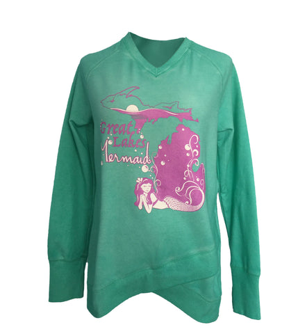 GL Mermaid Crossover Sweater