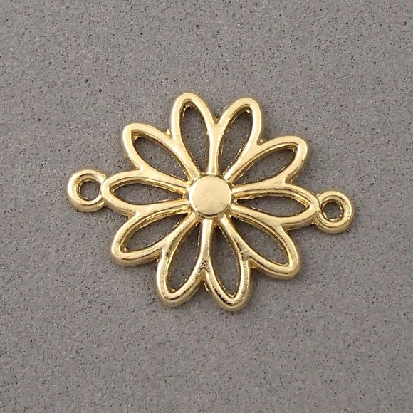 BD135 Daisy 14k Gold Plated Charm