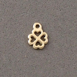 BD141 Clover 14k Gold Plated Charm
