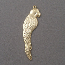 BD157 Parakeet 14k Gold Plated Charm