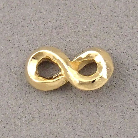 BD186 Infinite 14k Gold Plated Charm