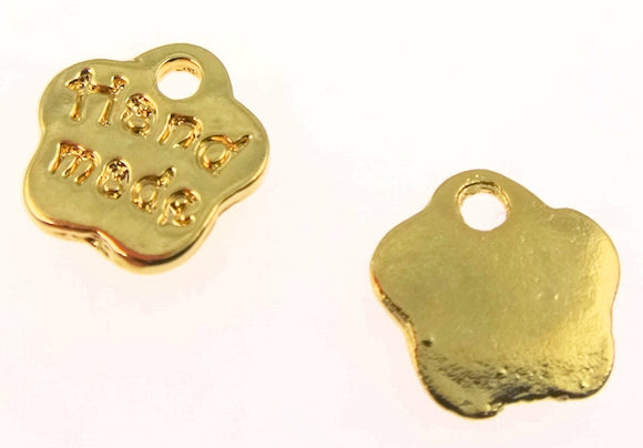BD193 Hand Made 14k Gold Plated Charm