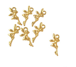 BD206 Fairy 14k Gold Plated Charm