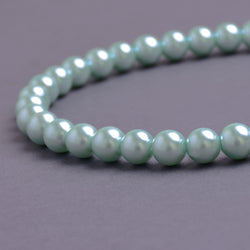 Glass Pearl Beads C41 Mint