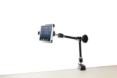 Friction Knob Universal Mount System w/Adjustable iPad 9.7/10/5 or 12.9 Mounting Cradle