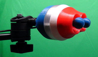 TMouse chin-operated dual joystick
