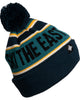 Youth Tailgater Pom Beanie - Mountain Sunrise