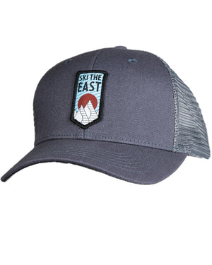 Upslope Trucker Hat - Charcoal