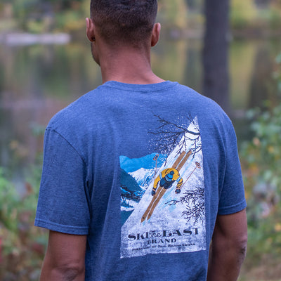 First Descent Tee - Navy