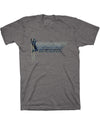 Backscratcher Tee - Medium Gray