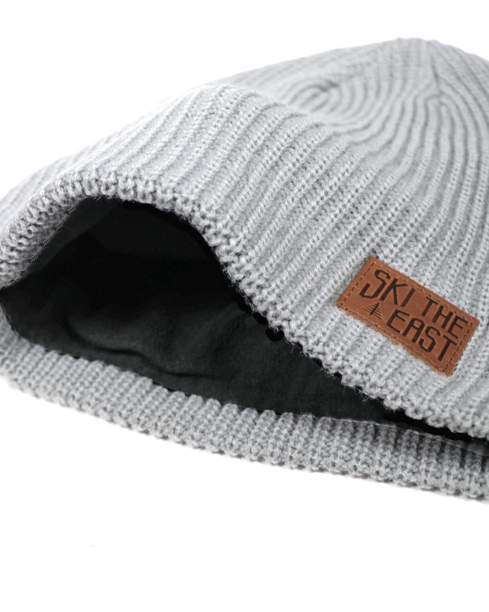 Camper Fleece Lined Beanie - Gray - Ski The East 31ff469bce7