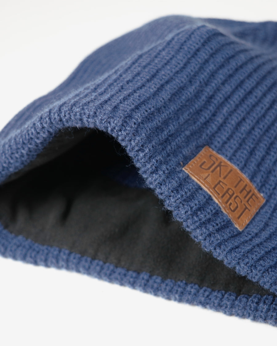 Camper Fleece Lined Beanie - Ocean Blue
