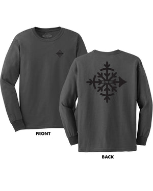 Compass Longsleeve Shirt - Graphite