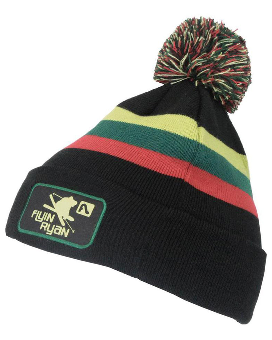 Flyin Ryan Patch Pom Beanie