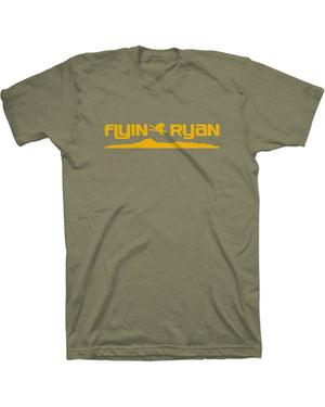 Flyin Ryan Ridge Tee - Light Olive