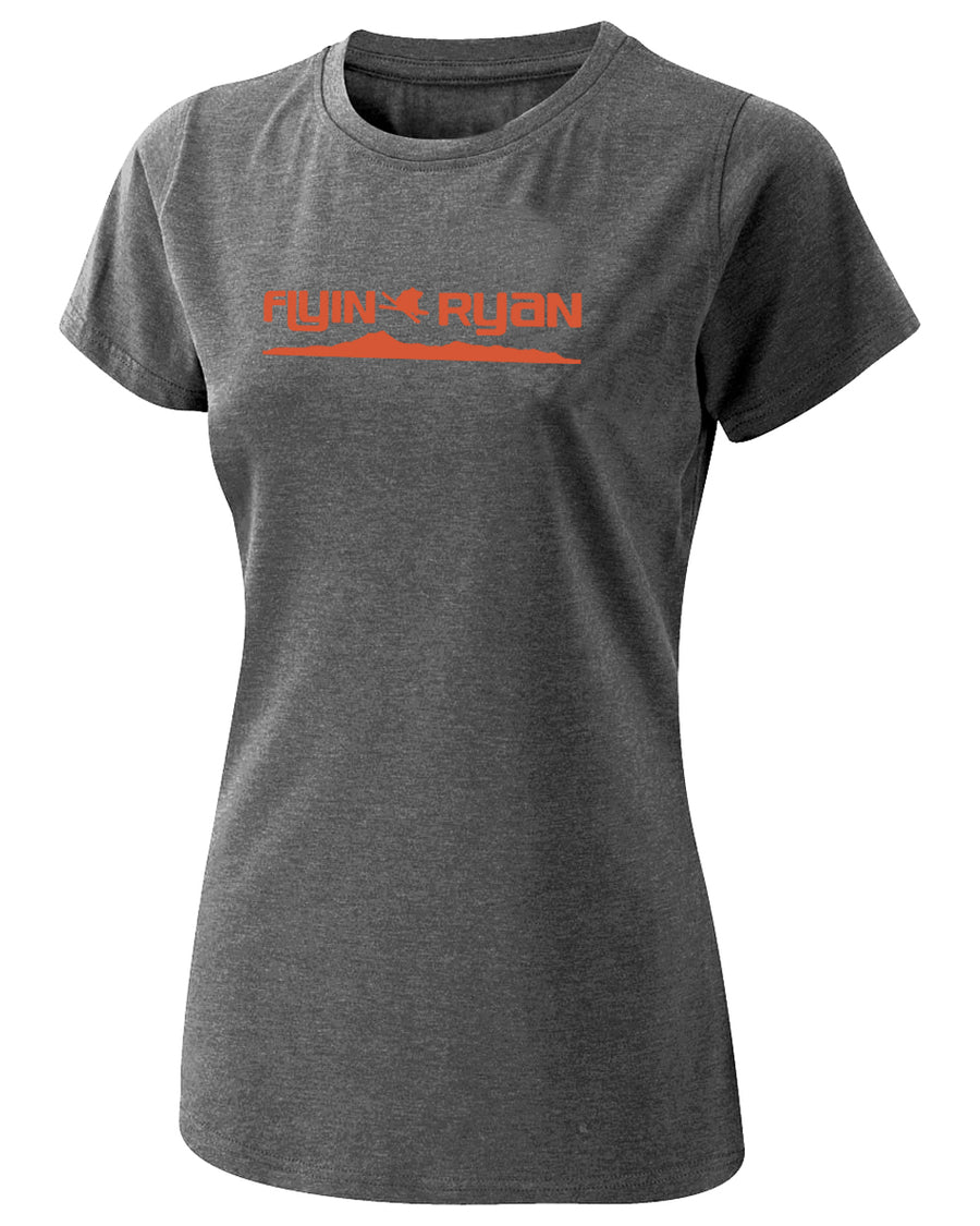 Women's Flyin Ryan Ridge Tee - Deep Heather