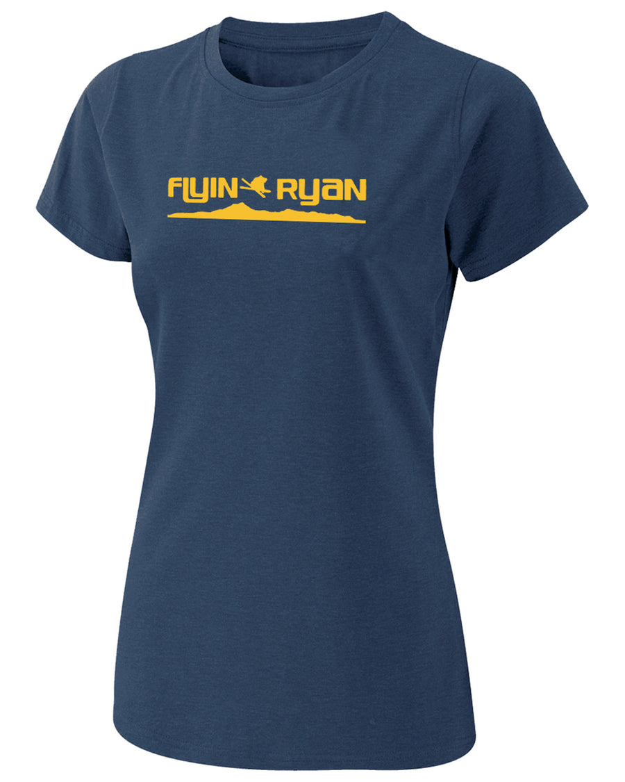 Women's Flyin Ryan Ridge Tee - Navy
