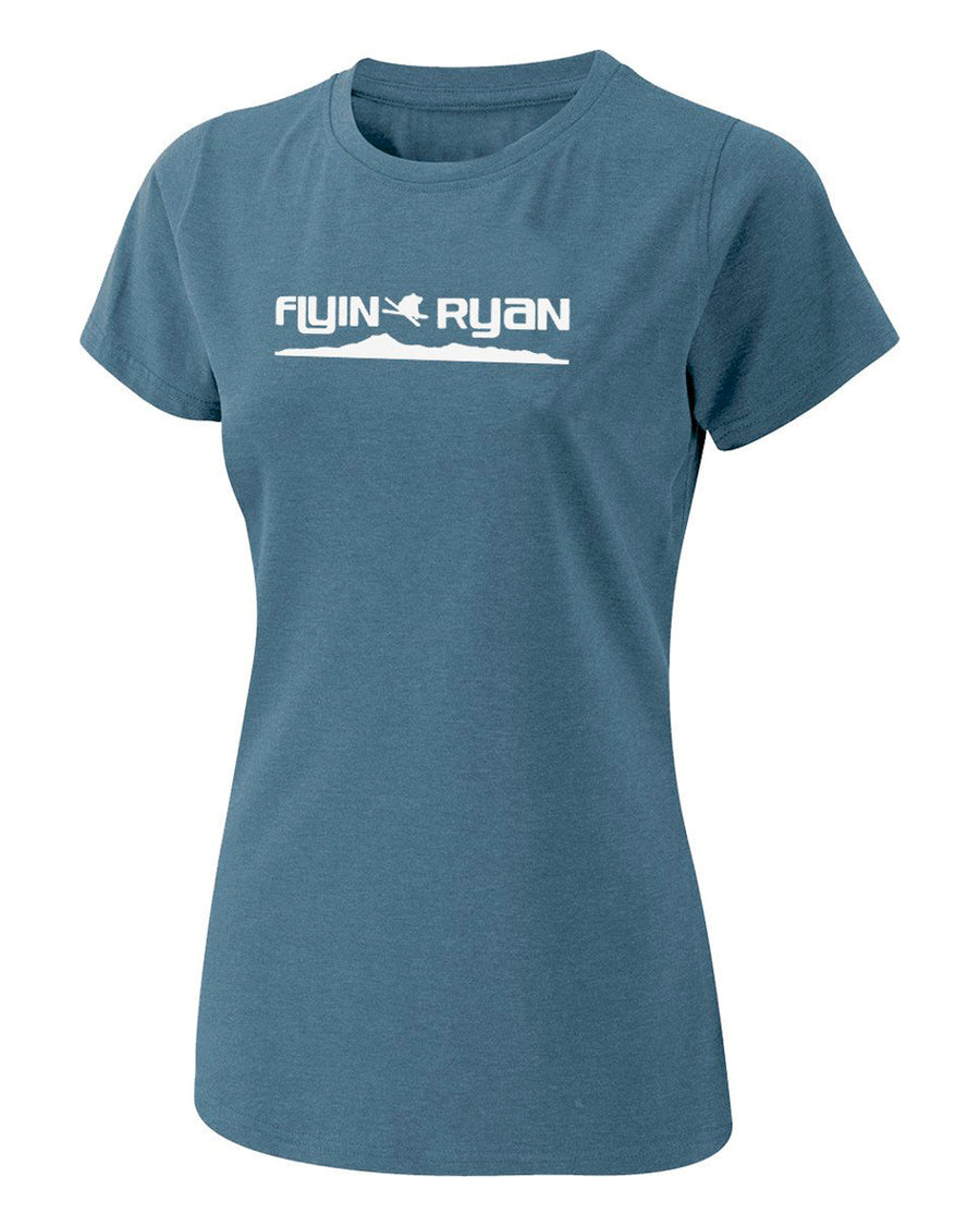 Women's Flyin Ryan Ridge Tee - Indigo