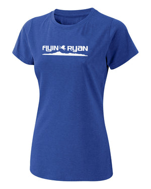 Women's Flyin Ryan Ridge Tee - Royal