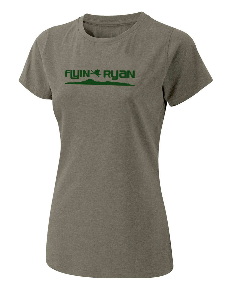 Women's Flyin Ryan Ridge Tee - Sage