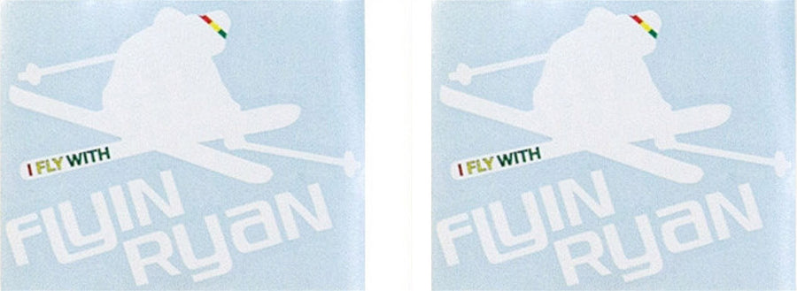 Flyin Ryan Die-Cut Sticker Pack