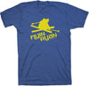 Flyin Ryan Logo Tee - Heather Blue