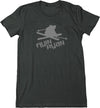 Women's Flyin Ryan Logo Tee - Charcoal