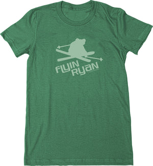 Women's Flyin Ryan Logo Tee - Green