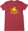 Women's Flyin Ryan Logo Tee - Heather Red