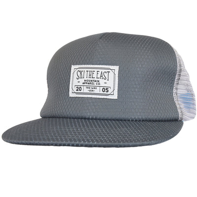 River Mesh Trucker Hat - Charcoal
