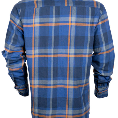 Savage Flannel - Solar Blue