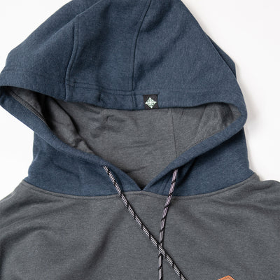 Crawford Pullover - Charcoal/Navy